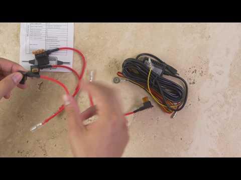 Mini 0906 Hardwiring Kit - Unboxing