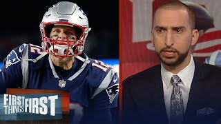 Nick and Cris on Brady leading Patriots to 43-40 win over Mahomes, Chiefs | NFL | FIRST THINGS FIRST