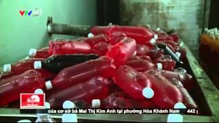 NKVTPB 25/04/2016 | Tràn Lan Nước Ngọt Giá Rẻ Pha Bằng Hóa Chất | VTV24