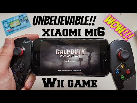 Playing Call of Duty: World at War on Android Smartphone/Wii Games Dolphin Emulator/Snapdragon 835