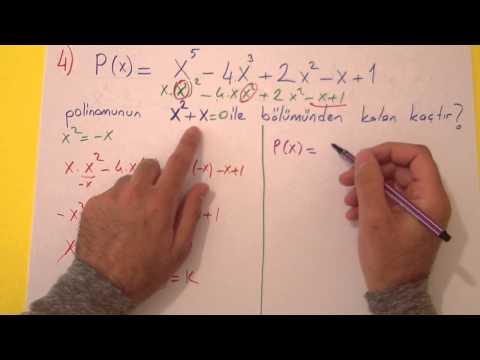 10. Sınıf 2. Dönem 2. Yazılı Soruları Şenol Hoca Matematik