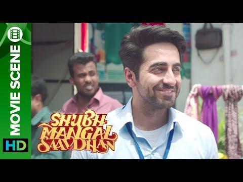 Ayushmann Khurrana tries to flirt with Bhumi Pednekar - Shubh Mangal Saavdhan