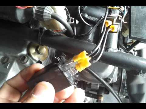 81 xs400 led turn signals - YouTube