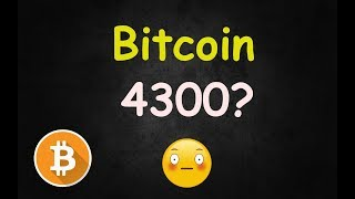 Bitcoin 4300 Soon? - Here's Why 🔴 LIVE
