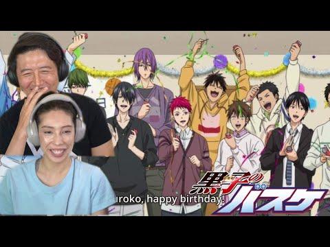 Kuroko's Birthday! | KUROKO NO BASKET OVA REACTION!