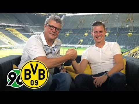 Lukasz Piszczek joins BVB Matchday Magazine |Hannover 96 - BVB | Matchday 2