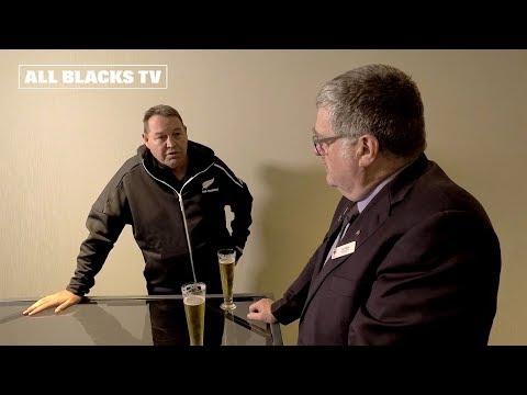 Steve Hansen chats with NZ Army Veteran