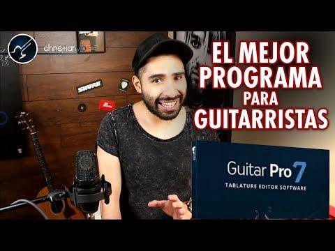 La Mejor Aplicación Que Me Hizo Mejorar Como Guitarrista | Christianvib Guitar Pro 7