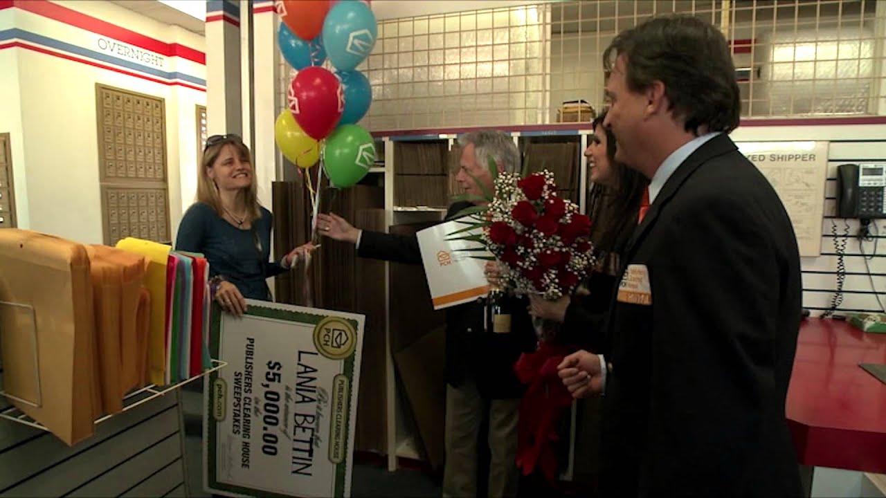 Publishers Clearing House Winners: Lania Bettin From Santa Monica,  California Wins $5,000