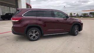 2018 Toyota Highlander Laredo, Alice, Hebbronville, Cotulla and Webb County, TX T181325