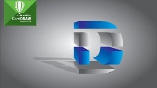 Coral Draw Tutorial | How to make 3D Text Logo