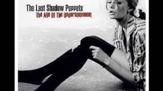 The time has come again The last shadow puppets