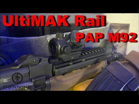 UltiMAK M15 Rail for PAP M92