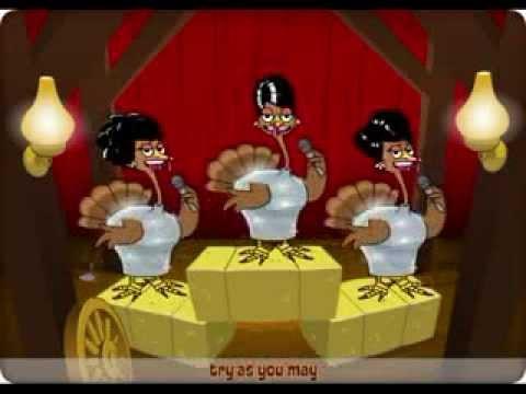 Funny Thanksgiving Cartoon - Must See!