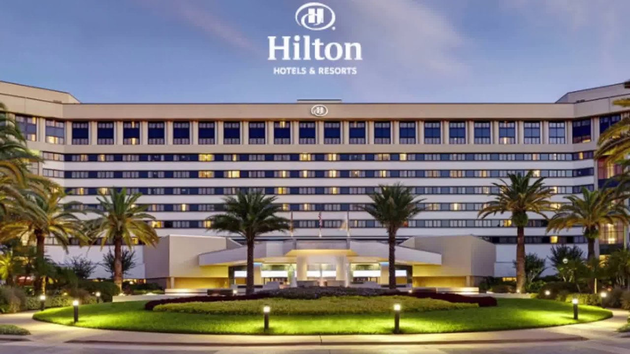 hilton orlando disney springs resort area hotels - youtube