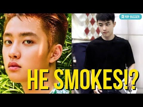 EXO D.O. Is A Smoker? Fans Saw A Pack Of Cigarettes In His Bag
