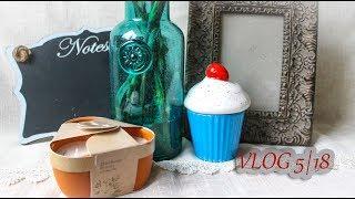 Скрап VLOG: покупки для декора дома и фото из секонд хенда/ подарки / альбом/ 5.18