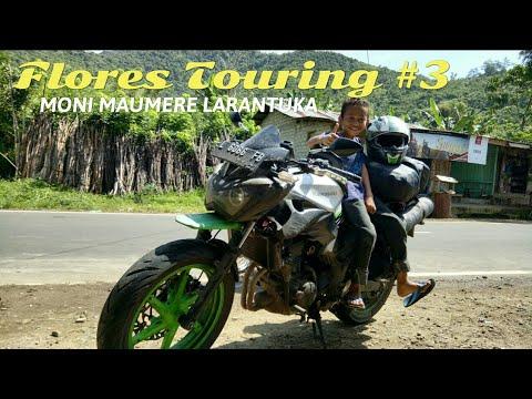 Trans Flores Touring Z250FI #3 : Moni-Maumere-Larantuka