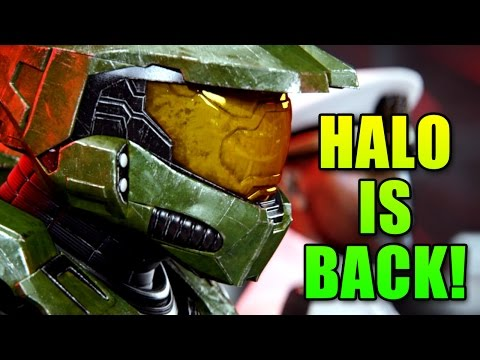 Halo Master Chief Collection - Halo 2 Anniversary Looks So Awesome! (Halo MCC)