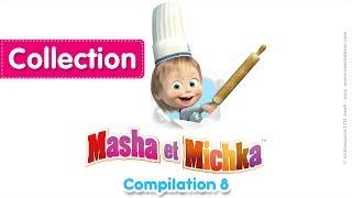 Masha et Michka - Сompilation 8 (20 minutes)