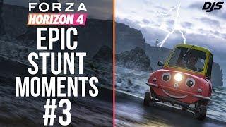 Forza Horizon 4 - EPIC STUNT MOMENTS #3