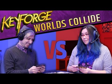 Keyforge: Worlds Collide - Better Than Magic The Gathering??