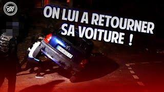 IL VOLE L'ESSENCE DES VOITURES DEVANT NOTRE CAMERA  ! ( CAM OFF )
