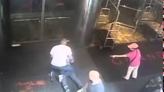 SECURITY VIDEO: Cop Throws James Blake to Ground