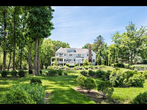 Custom Meridian Estate on Smith's Cove in  Barrington, Rhode Island - Sotheby's International Realty