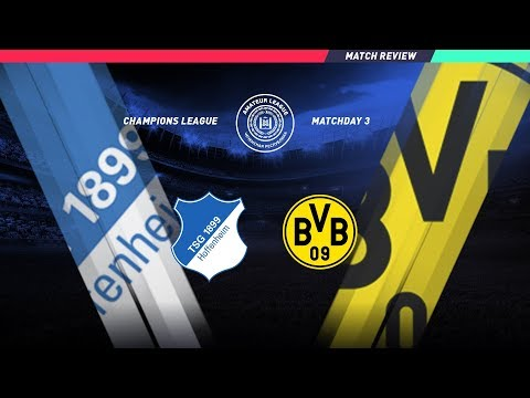 Лига Чемпионов: 3 тур: Хоффенхайм 8:2 Боруссия Дортмунд (Обзор матча)