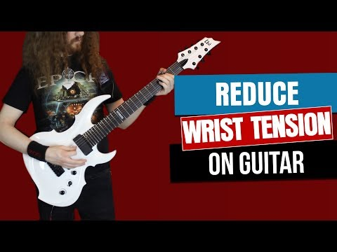 How to Reduce Tension When Playing Guitar