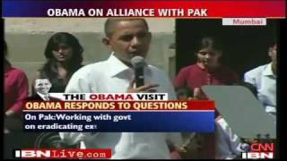 "Indian Student Asks Obama, ""Why Doesn"