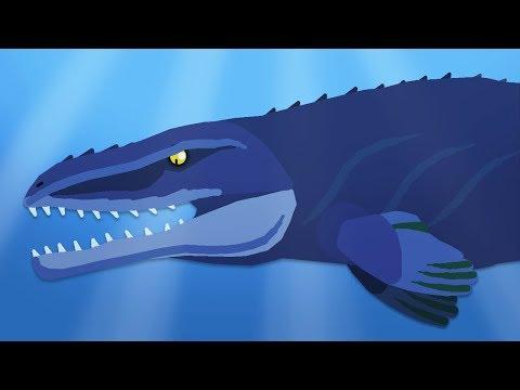 dinomania-|-mosasaurus-vs-megalodon-|-dinosaurs-and-godzilla-battles-compilation