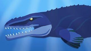 DinoMania | Mosasaurus vs Megalodon | Dinosaurs and Godzilla battles compilation