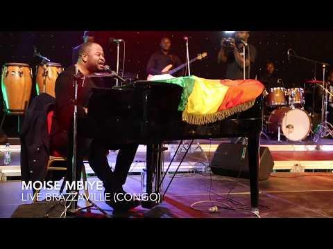Pasteur Moise Mbiye live à Brazzaville - Natiela yo motema