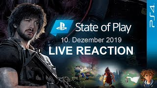 🔴 STATE OF PLAY (RESIDENT EVIL 3 REMAKE) vom 10.12.2019 - PS4 News 🎇 Domtendos Live Reaktion