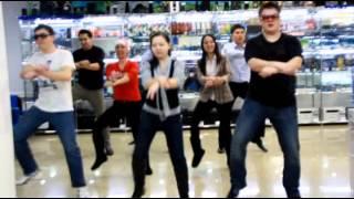 Опа Новый Год - Белый Ветер - Gangnam Style