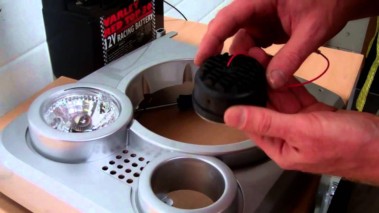 medium resolution of land rover defender svx front light kit demonstration