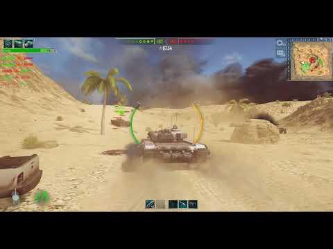 Tank Force 4K Game Play  10 kills 1 death