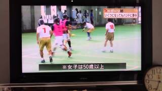 第22回全日本マスターズハンドボール大会In沖縄のニュース映像