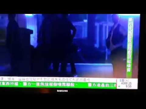 Police officers torturing  peaceful demonstrators [HONG KONG umbrella revolution ]