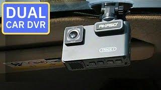 Dual Camera Car DVR - Akaso Trace 1 Dash Cam Review