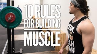 My 10 Fundamental Laws of Hypertrophy: What You Need To Know To Build Muscle thumbnail