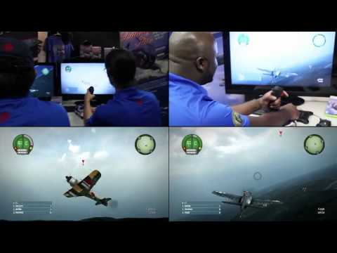 Damage Inc. : Pacific Squadron WWII - AV8R FlightStick - Preview (HD)