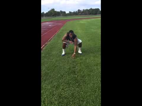 Justin McCray Workout Video