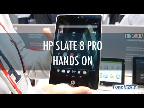 HP Slate 8 Pro Hands On