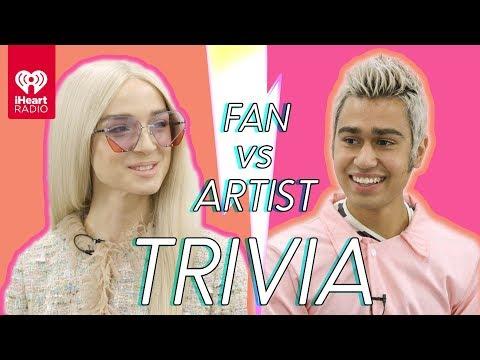 Poppy Challenges A Super Fan In A Trivia Battle   Fan Vs. Artist Trivia