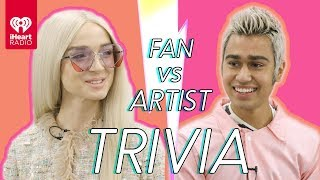Poppy Challenges A Super Fan In A Trivia Battle | Fan Vs. Artist Trivia