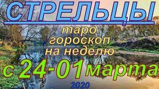 ГОРОСКОП СТРЕЛЬЦЫ С 24 ФЕВРАЛЯ ПО 01 МАРТА.2020