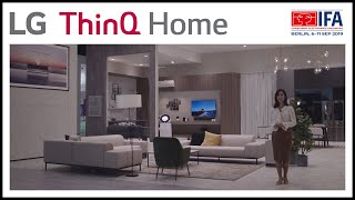 LG at IFA 2019 - LG ThinQ Home ''Great Living-Kitchen''